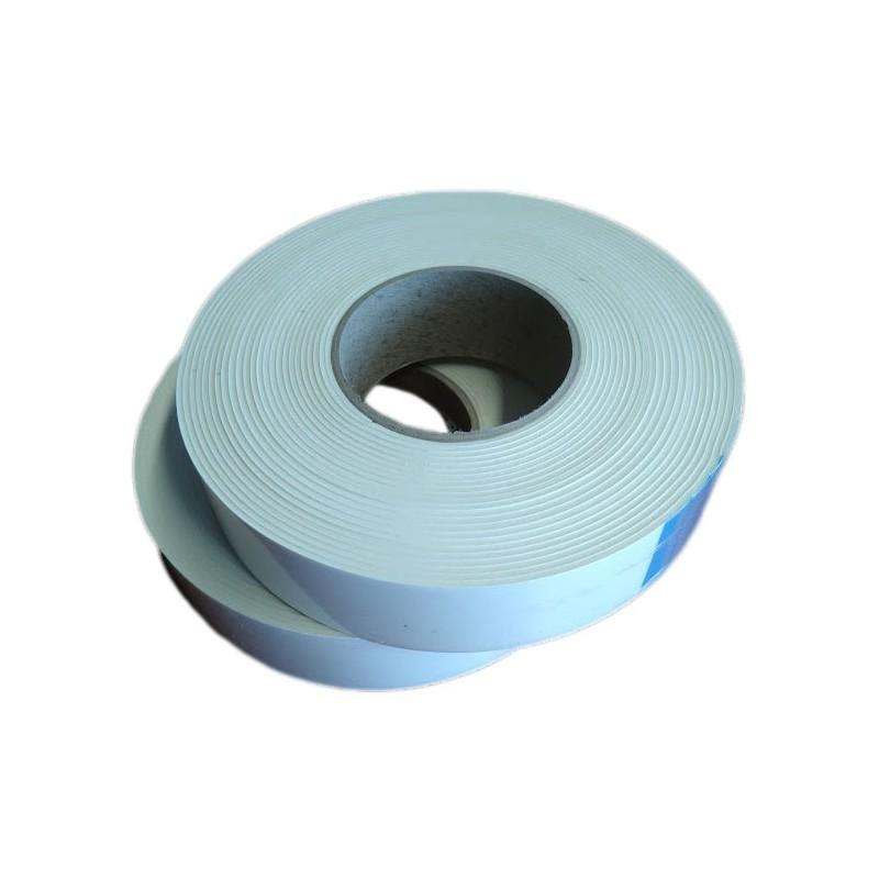 EPDM Mosrubber rechthoekig snoer  5x25 mm   Tolerantie +-0,80x1,60 mm   Lengte 50 mtr