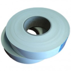 EPDM Mosrubber rechthoekig snoer| 5x20 mm | Tolerantie +-0,80x1,60 mm | Lengte50 mtr